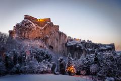 Presepino (Castello foto) Tags: sanleo presepe neve bianco natale rocca castello montagna tramonto mountain castle fortezza
