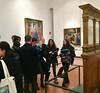 Visite de la galerie des Offices, et premiers exposés
