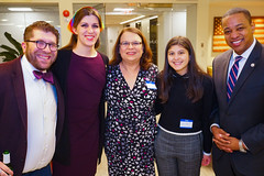 2018.12.05 Danica Roem Reception, Washington, DC USA 08850