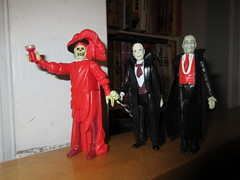 Mask of the Red Death Phantom Toasting 8191 (Brechtbug) Tags: mask red death phantom opera masque funko super7 reaction remco minimonsters figure from 1980 lon chaney sr eric paris monster dusty action universal monsters new york city 2018 france convict devil s island scary horror terror halloween fright toy toys creatures shadow ghoul teacher mentor victor hugo skull like shadows creepy sideshow 1980s nyc creature super 7 seven