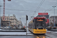 Pesa Jazz Duo (128N) - 3625 - 7 - 21.12.2018 (VictorSZi) Tags: poland warsaw varsovia transport tram tramvai publictransport winter iarna december decembrie nikon nikond5300