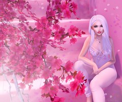 A flower must bloom inside first before revealing its beauty to the world. (Yuna.Styles) Tags: candydoll fameshed foxcity foxyhair maitreya fashion bloggingsl catwahead secondlife secondlifefashion secondlifeevents secondlifeposes