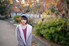 Young woman walking in autumn public park (Apricot Cafe) Tags: ap2a3103 asia beautifulpeople japan japaneseethnicity kyotocity kyotoprefecture maruyamaparkkyoto millennialgeneration sigma35mmf14dghsmart autumn autumnleafcolor backlit beret coat colorimage comfortable copyspace elegance gion leisureactivity lifestyles nature oneperson oneyoungwomanonly people photography publicpark relaxation relaxing serenepeople shorthair street sunlight sunset tourism travel waistup walking women youngadult