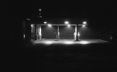 untitled-11 (dvlmnkillatron) Tags: 35mm film kodak bw selfdeveloped analog night evening champaign kodaktmaxp3200 pushed 6400 drivethru