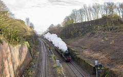 On the Move (4486Merlin) Tags: 60103 england europe exlner flyingscotsman lnerclassa3 railways steam transport unitedkingdom westyorkshire countries horbury gbr adingford
