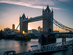 Tower bridge - London, United Kingdom - Travel photography (Giuseppe Milo (www.pixael.com)) Tags: photo landscape sunset unitedkingdom city light urban touristic travel tower photography sky bridge london europe geotagged england gb onsale