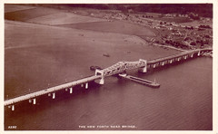 The Kincardine Bridge. (Paris-Roubaix) Tags: kincardine bridge fife river forth antique postcards scotland vintage scottish