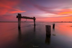 Colourful evenings (Gary Eastwood) Tags: jettyruins jetty altonavictoria nisifilters ndfilters longexposures nikond750 nikon sunset cloudsstormssunsetssunrises clouds seascape