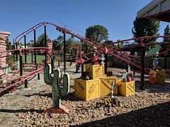 Six Flags Magic Mountain (coconut wireless) Tags: f2018tpt amusementpark attraction looneytoons looneytunes magicmountain panorama ride roadrunner roadrunnerexpress rollercoaster sixflags sixflagsmagicmountain themepark valencia warnerbros