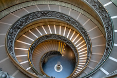 The Vatican, Rome. (marklewis35) Tags: vatican rome italy staircase