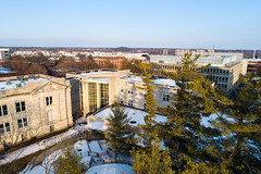 2019 - January - CHS - Snowy Winter Break Sunday-182-HDR.jpg (ISU College of Human Sciences) Tags: building winter forker campus buildings foodsciencebuilding morrill snow lagomarcino ringoflife drone campanile scenic palmer fshn chs mackay beauty