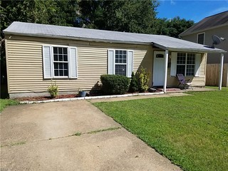Hampton, Va Real Estate For Sale - 26 Dogwood St. Mls# 10218711 Is A 3 Bedroom, 2 Bath Home Listed At Just $115,000!