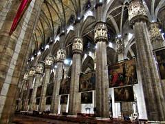 nave, il duomo Milano (Dan_DC) Tags: nave columns ilduomomilano milan italy lombardia church cathedral