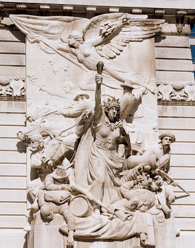 War - Soldiers and Sailors Monument - Indianapolis