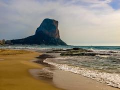 Allá a lo lejos veía. (Jesus_l) Tags: europa españa alicante calpe peñóndeifach mar jesúsl