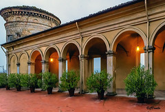 Il Loggiato del Castello Scipione (danilocolombo69) Tags: danilocolombo69 castello scipione loggiato danilocolombo nikonclubit castellidelducatodiparmaepiacenza