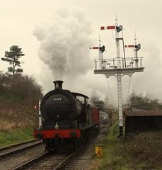 65894 (feroequineologist) Tags: 65894 j27 goathland lner railway train steam nymr northyorkshiremoorsrailway
