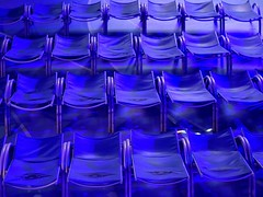 Blue deck chair patterns (35mmMan) Tags: disney magic cruise ship blue patterns abstract deckchairs loungers deck inexplore explored