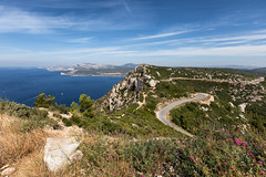 "Coastal route ""Rue des Crètes"" (world.wideweg) Tags: provence france frankreich südfrankreich southoffrance landscape lanschaft calanques nationalpark sea ocean"