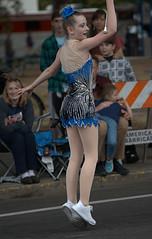 Twirler (Scott 97006) Tags: girl female dancer outfit dress cute pretty coordinated talented parade baton twirl street