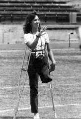 SAK Amputee photographer (jackcast2015) Tags: amputee amputeewoman amputeelady disabledwoman disabledladies crippledwoman crippled crippledlady crutch crutches monopede