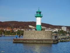 2015_Rügen_2 (Joachim Spenrath Münster, Germany) Tags: stairs treppe lighthouse balticsea sea baltic sky red white autumn weiss rot herbst himmel blau ostsee rügen leuchtturm
