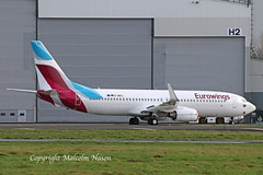 B737-86J D-ABKJ EUROWINGS (shanairpic) Tags: jetairliner b737 boeing737 shannon iac eirtech eurowings dabkj