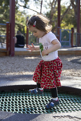 (louisa_catlover) Tags: portrait family child toddler daughter tabitha tabby 22months park playground outdoor trampoline playing fun beckettpark melbourne victoria australia spring november afternoon