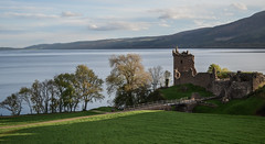 Standing through the ages (Rabican7) Tags: lochness scotland highlands castle medieval ruins remnants walls lake trees nature scottish historic structure destruction battle epic manau latribudedana urquhartcastle urquhart famouslandmarks landscape view