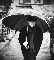Raining (alessandrochiolo) Tags: fujistreet fujifilm fujixt20 fuji rain monochrome streetphotographer streetphotography street blackandwhite