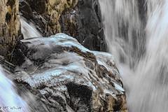Falling into glory! (SpyderMarley) Tags: bcparks erringtonnearparksville photogenic hiking recreation trail picturesque park englishmanriverprovincialpark nikkor70300mm nikond70 englishmanriverfalls peaceful scenic river rock runningwater water winter britishcolumbia vancouverisland telephoto nikon ice waterfall