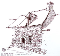 Les Cours Hamon vers 1796 (vraisemblablement)