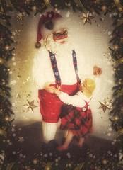 Jingle Bell Rock! (Sherrianne100) Tags: jinglebellrock dancing vintage santa christmasdecorations christmas