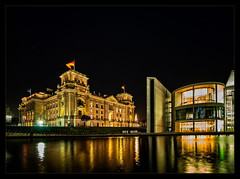 Around the Corner... (Silke Klimesch) Tags: berlin tiergarten regierungsviertel reichstag bundestag paullöbehaus spree nachtaufnahme langzeitbelichtung sterne spiegelungen fluss architektur historisch modern governmentdistrict reichstagbuilding germangovernment nightphotography longexposure stars starrysky reflections river water architecture historical astrophotography palaisdureichstag edificiodelreichstag palazzodelreichstag rijksdaggebouw rigsdagsbygningeniberlin clădireareichstagului рейхстаг laowacdreamer75f2 laowa75mmf2mft venusoptics primelens ultrawideanglelens wideangle 15mm rectilinear olympus em5markii microfourthirds luminar on1photoraw2019 lightroom