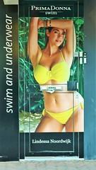 Poster (Steenvoorde Leen - 11.3 ml views) Tags: 2018 noordwijk woman girl primadonna swimandunderwear bikini noordwijkaanzee poster badplaats zuidholland