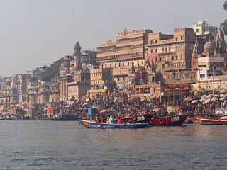 Varanasi - People at the Ghats