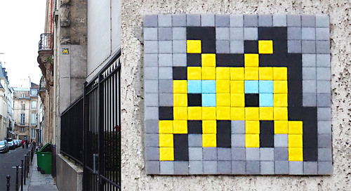Space invader [Paris 3e]