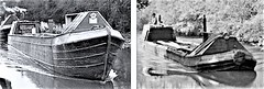 Town Class boats - empty and loaded. (Chris the coal.) Tags: townclass boats canal loaded