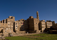 Sanaa Gardens In Old Town Surrounded By Storeyed Tower Houses Built Of Rammed Earth, Sanaa, Yemen (Eric Lafforgue) Tags: agricultural agriculture agroeconomy arabia arabiafelix arabianpeninsula architectural architecture blue bluesky building car citizen colourpicture copyspace day garden historical history horizontal housing minaret nopeople oldcity oldpeople oldtown placeofinterest plants sana sanaa shine sun sunlight unescoworldheritagesite yemen a0701278