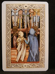 Six of Swords. (Oxford77) Tags: tarot thenorsetarot norse viking vikings cards card tarotcards