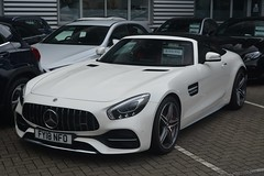 Mercedes-AMG GT C Roadster (CA Photography2012) Tags: fy18nfo mercedesamg gt c roadster v8 biturbo supercar gtc convertible spider designo pearl white mercedesbenz mercedes benz amg merc german grand tourer sportscar ca photography automotive exotic car spotting vehicle carspotting