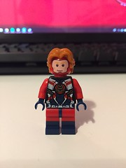 DC's Steel (Hank Heywood III) (Numbuh1Nerd) Tags: lego purist custom dc superheroes minifigures justice league america unlimited jla jlu society jsa detroit