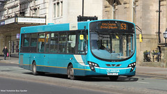 Arriva Merseyside MX59 JJO 3027 (WY Bus Spotter) Tags: arriva merseyside mx59jjo 3027 west yorkshire bus spotter north wybs vdl sb200 wrightbus wright pulsar 2 ii liverpool lime street 53 bootle depot interurban livery