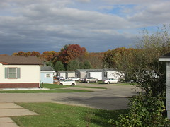 The neighborhood (creed_400) Tags: november fall autumn belmont west michigan mobile homes
