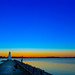 Lighthouse In Vadstena [Explored] 2018-11-20 (bobban25) Tags: canon eos 80d efs18135mm f3556 is stm östergötland sverige sweden scandinavia canoneos80d canon80d vadstena pir fyr lighthous manfrotto tripod manfrotto498rc2 canonefs18135 lighthouse sunset watwer lake vättern sjö blue