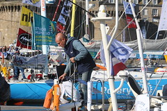 Oge World - 66 - Eric Jail (CHRISTOPHE CHAMPAGNE) Tags: 2018 route rhum saintmalo bretagne ille vilaine 35 france depart zebre 66 oge world eric jail