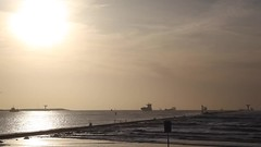Sonnenuntergang Hoek van Holland - Sunrise (MLe Dortmund 100K+) Tags: rotterdam hafen hoekvanholland sonnenuntergang sinrise schiffe zeitraffer nordsee northsea port meer sea
