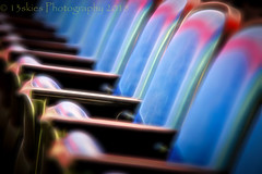 Please Be Seated (HSS) (13skies (Physio)) Tags: pizzazz topazglow seats empty arena hockey stands cold sports padded blue armrests glow sony happyslidersunday slider postprocessing effect cool colour color backrest vacant software sonya99