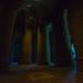 Crypte de gros piliers