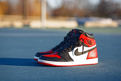 Air Jordan 1 Bred Toe (coltonmundt@sbcglobal.net) Tags: sneakers sneakerhead airjordan jordan1 bred bredtoe basketball classics mj